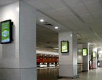 Airport Digital Signage - Digi Dynamics