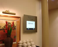 Room Entry Display Example